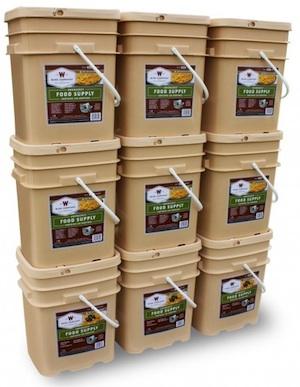 1080 Serving Long Term Food Storage