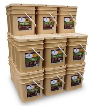 2880 Serving Long Term Food Storage