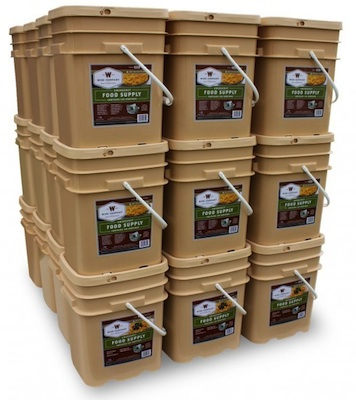 4320 Serving Long Term Food Storage