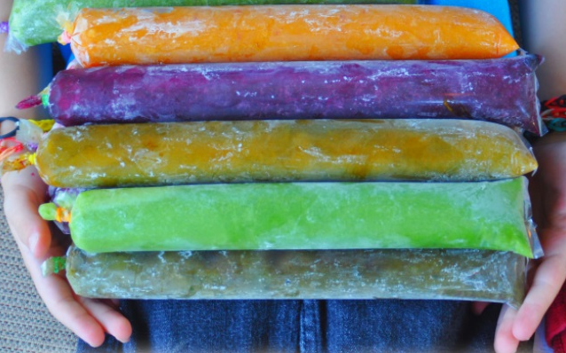100% Healthy – Veggie Popsicles
